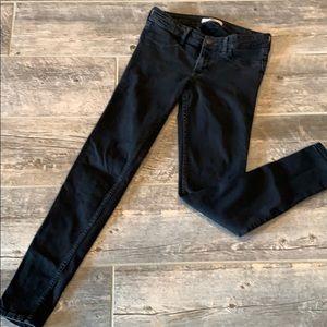 Hollister Black Skinny Stretch Jeans Jeggings
